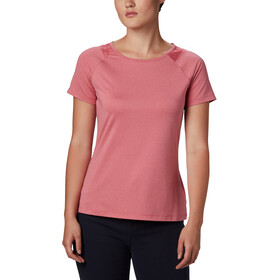 Columbia Peak To Point II T-shirt Damer, rouge peak heather